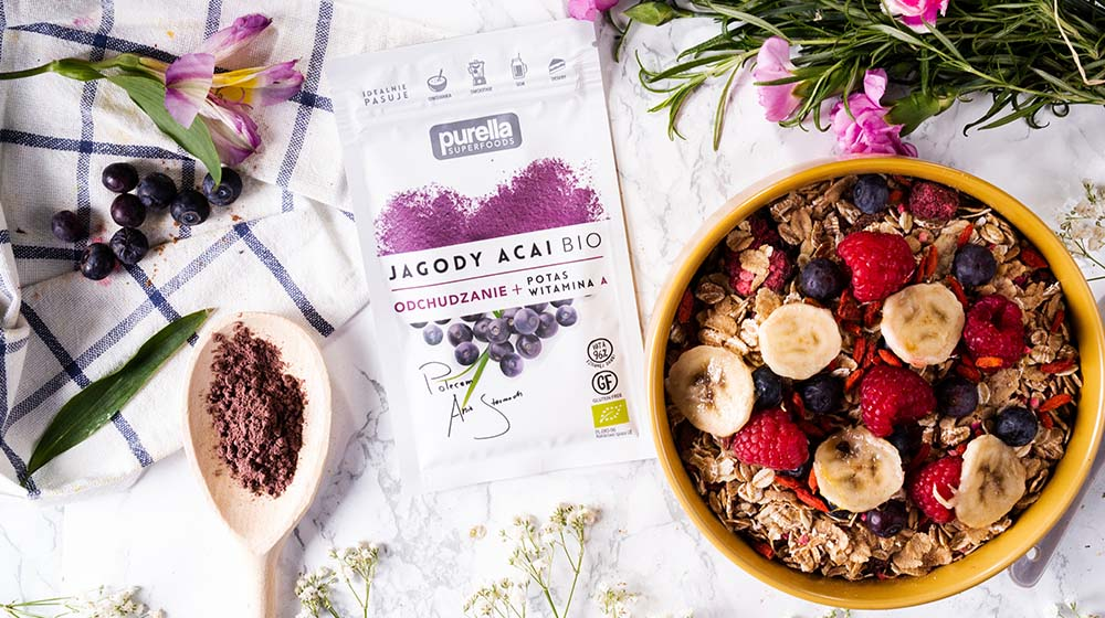 Superfoods - jagody acai