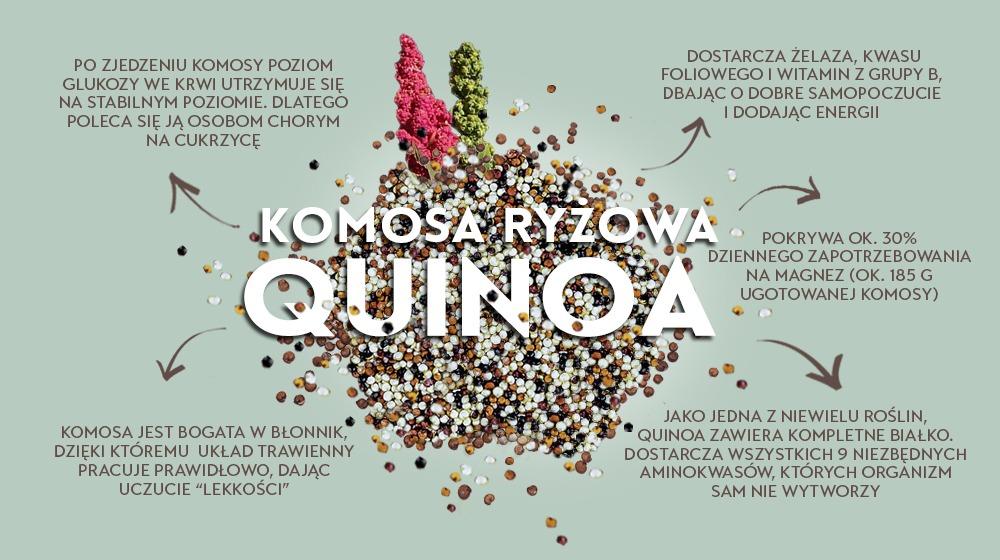 Komosa ryżowa, quinoa