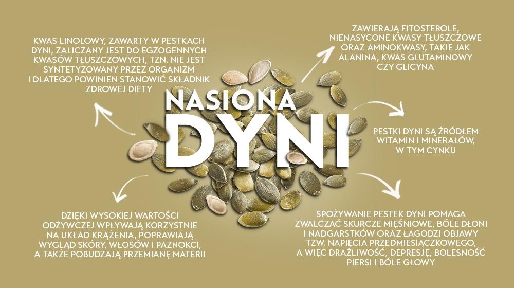 Nasiona dyni - polskie superfoods