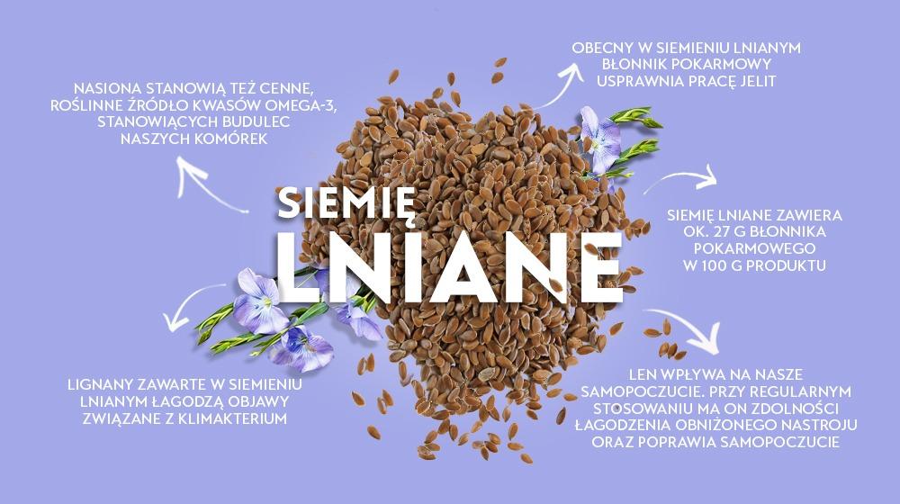 Siemię lniane - polskie superfoods