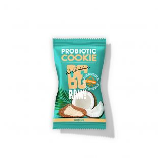 BeRAW Pro Biotic Cookie Kokos 20g