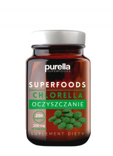 Chlorella suplement diety Superfoods