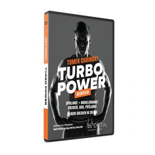Turbo power płyta DVD Tomka Choińskiego