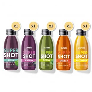 Zestaw 5x1 Mix Supershot Superfoods